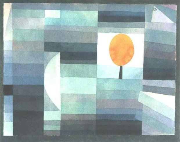 Paul Klee, The messenger of autumn, 1922, Yale University Art Gallery (Yale University), New Haven, CT, US, Klee's Autumn