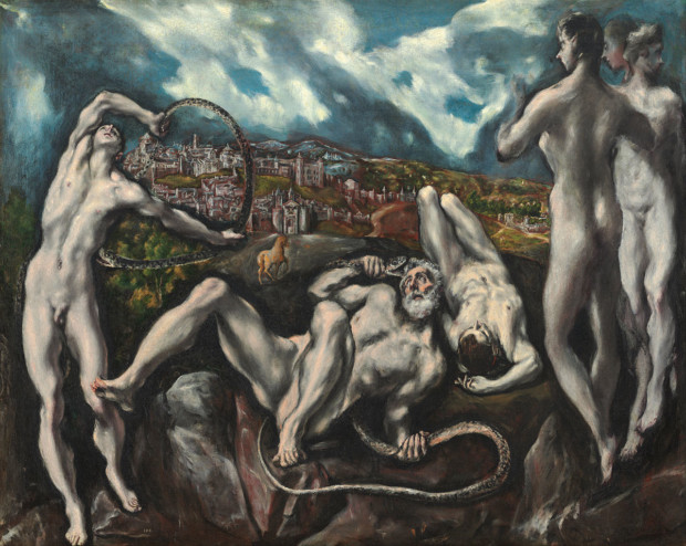 Laocoön, El Greco (1610-1614) ; National Gallery of Art, Washington , influence of El Greco on expressionism