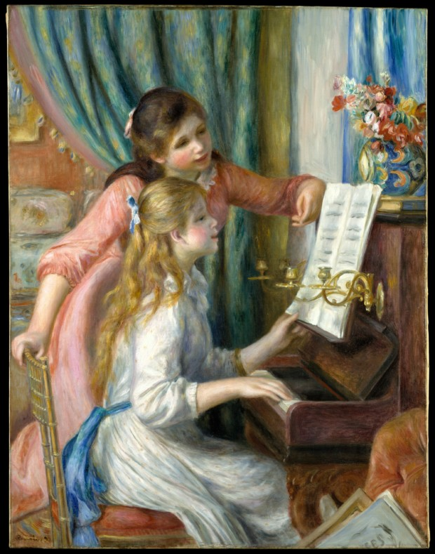 Auguste Renoir Two Young Girls at the Piano Auguste Renoir, Two Young Girls at the Piano, 1892, Metropolitan Museum of Art