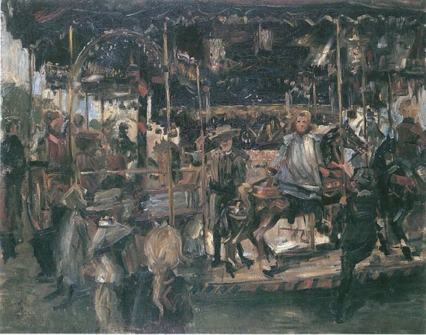 Lovis Corinth, Karussell, 1903, Landesmuseum für Kunst und Kulturgeschichte, Oldenburg, Germany.