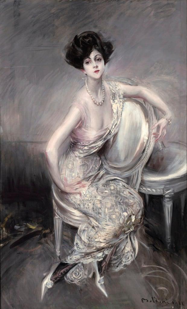 Portrait of Rita de Acosta Lydig by Giovanni Boldini