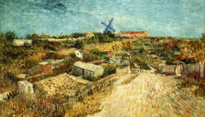 Vegetable Gardens in Montmartre: La Butte Montmartre, Vincent van Gogh, Stedelijk Museum, Amsterdam, Montmartre - the Home to Many Inspirations
