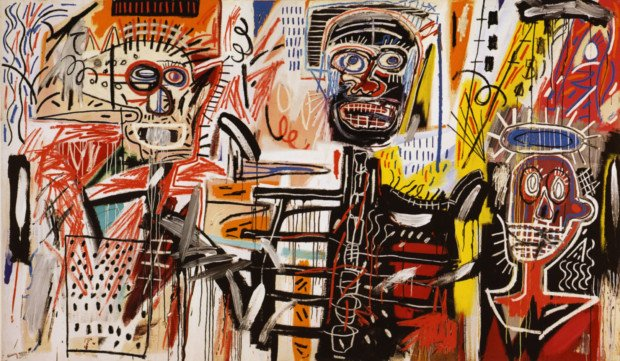 Basquiat Painting philistines