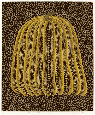 Yayoi Kusama, Yellow Pumpkin, 1992, private collection, pumpkins kusama