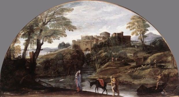 Annibale Carracci, Rest on the Flight into Egypt, c. 1604, Galleria Doria-Pamphili, Rome