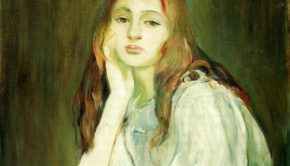 Berthe-Morisot-Julie-Daydreaming