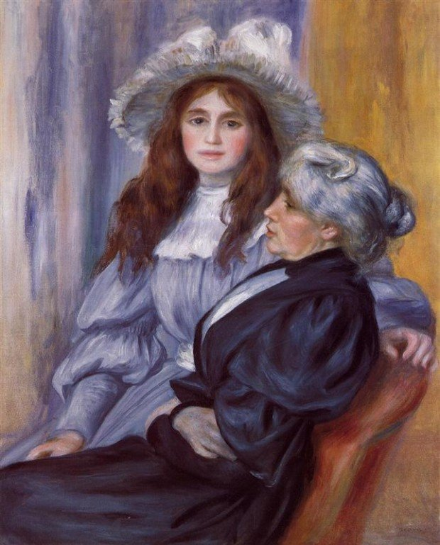 Berthe Morisot and Her Daughter Julie Manet, 1894, Private Collection, Julie Manet – the Beauty of Impressionism