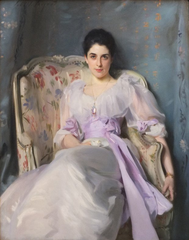 Lady Agnew of Lochnaw by John Singer Sargent Portraits by John Singer Sargent