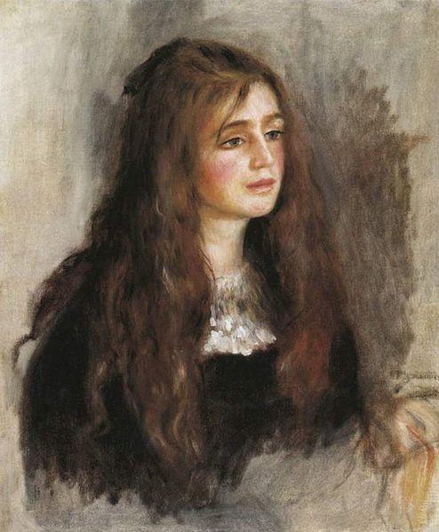 Portret de Julie Manet, Pierre-Auguste Renoir, 1894, Musée Marmottan Monet, Julie Manet – the Beauty of Impressionism
