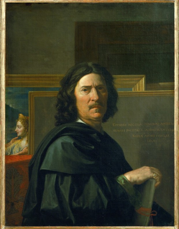 Poussin, Self-portrait , c.1650, Louvre, Paris Nicolas Poussin a Baroque artist