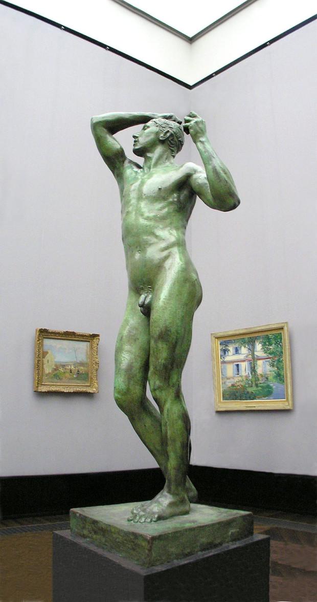The Bronze Age, Auguste Rodin, 1875/86, Alte Nationalgalerie, Happy 177th Birthday Rodin!