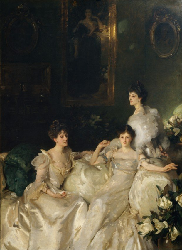 The Wyndham Sisters by John Singer Sargent Portraits by John Singer Sargent