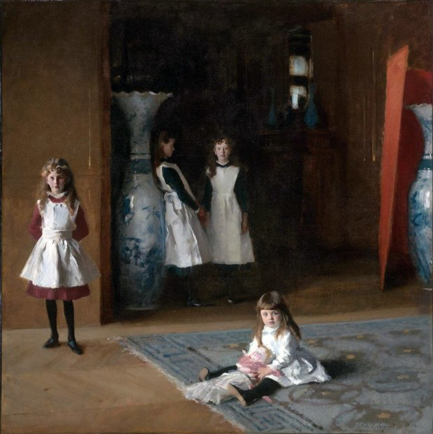 The Daughters of Edward Darley Boit by John Singer Sargent Portraits by John Singer Sargent