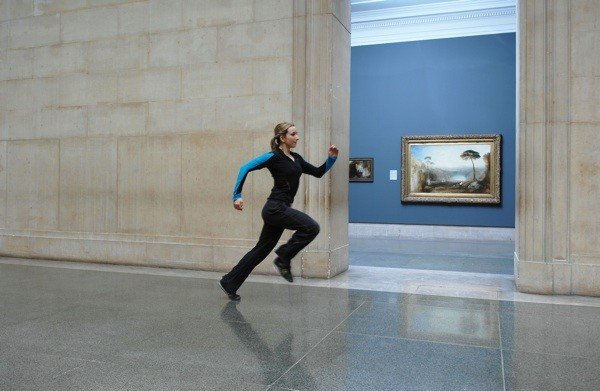 Martin Creed, Work No. 850, 2008, Source: artist's website, running in museums