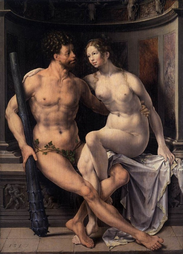 Jan Gossaert, Hercules and Deianeira (1517, Barber Institute of Fine Arts, Birmingham, 16th-Century Dutchmen