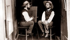 Mr. Toulouse paints Mr. Lautrec (ca. 1891)