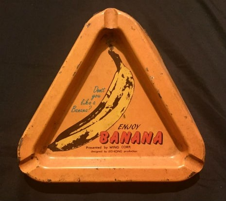 velvet underground warhol cover Banana ashtray