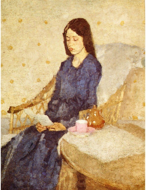 Gwen John, The Convalescent, 1924, Tate