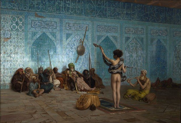 Jean-Léon Gérôme, The Snake Charmer, 1880, Sterling and Francine Clark Art Institute What Is Orientalism