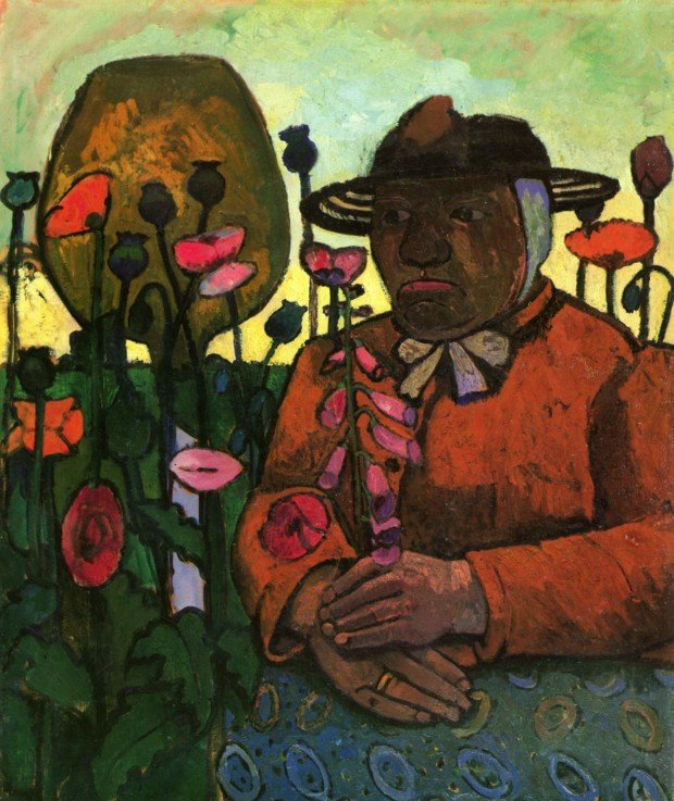 Paula Modersohn-Becker, Old Woman in the Garden, 1906, Paula Modersohn-Becker Museum