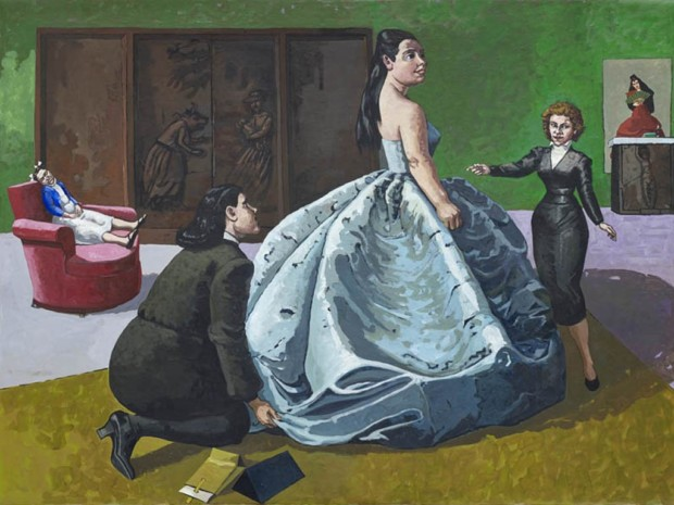 Paula Rego, The Fitting, 1989, The source: The Saatchi Gallery Paula Rego's World
