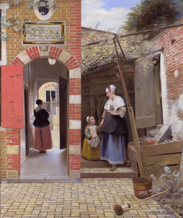 Women's Place Is In The Kitchen: The Story of Dutch Genre Painting