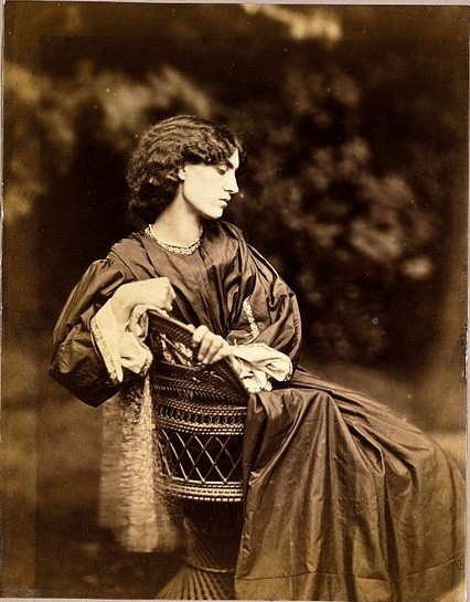 Jane Morris, posed by Rossetti by John R Parsons, 1865 Legend of Proserpine