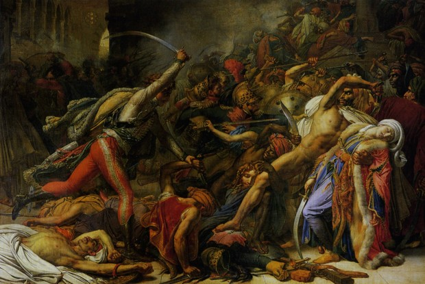 Anne-Louis Girodet, Revolt of Cairo, 1810, The Art Institute of Chicago, What Is Orientalism