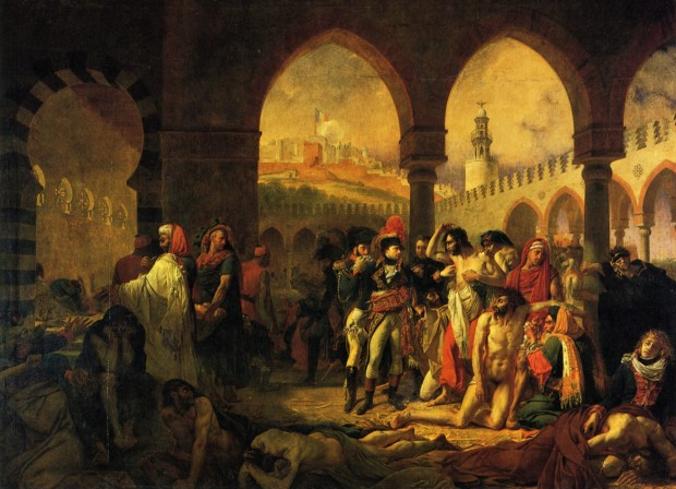 Antoine-Jean Gros, General Bonaparte Visiting the Pesthouse at Jaffa, 1804, The Louvre, What Is Orientalism