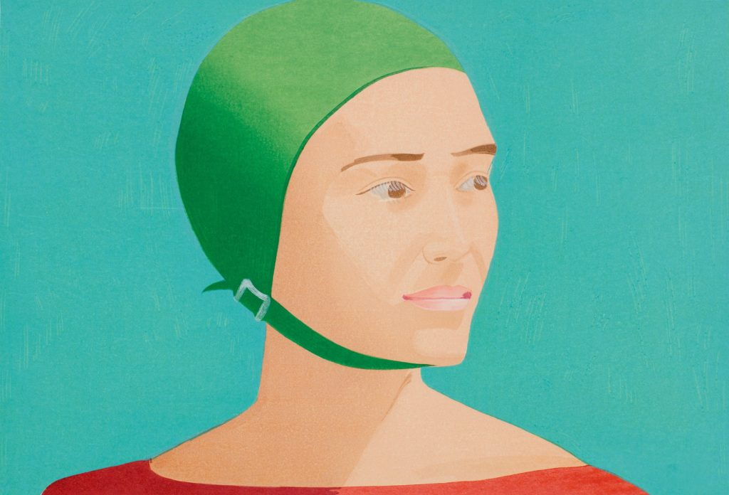 Alex Katz, The Green Cap, 1985, private collection Art in BoJack Horseman