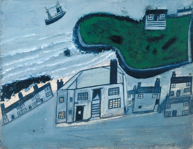 Alfred Wallis, The Hold House Port Mear Square Island Port Mear Beach, 1932, Tate