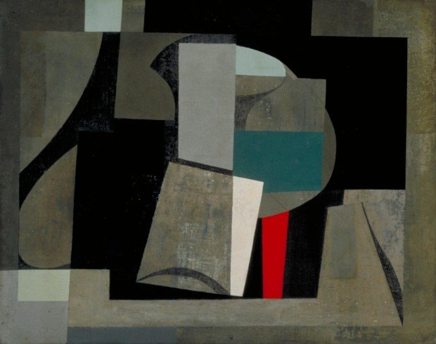 Ben Nicholson, 1934-6 (painting - still life), 1934 - 1936, Tate Modern, London, UK