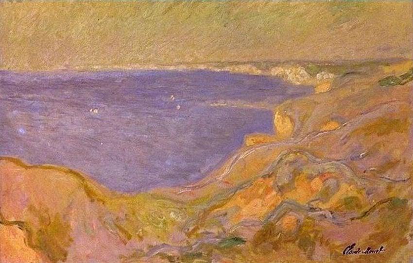 Claude Monet. Marine. 1880. © Public Domain. Chácara Do Céu Museum, Rio de Janeiro. stolen artworks from Chácara do Céu Museum