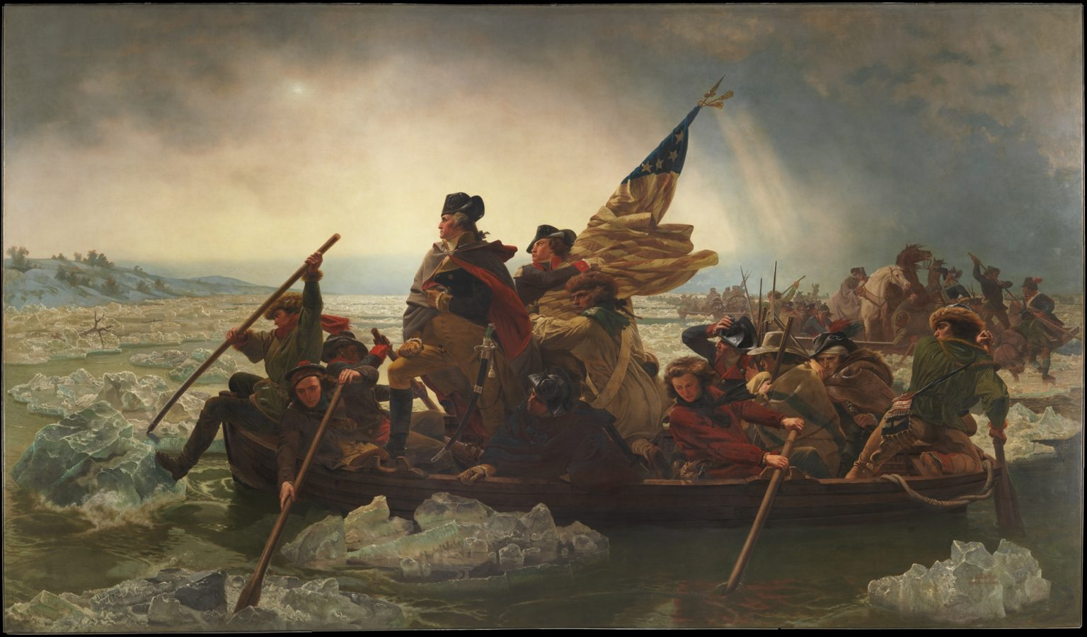 Emanuel Leutze, Washington Crossing the Delaware, 1851, Metropolitan Museum of Art