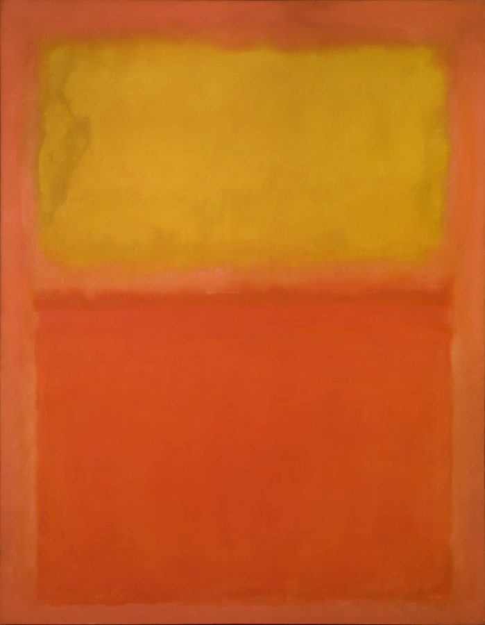 Art in BoJack Horseman Mark Rothko, Orange and Yellow, 1956, Albright-Knox Art Gallery, Buffalo, NY, US