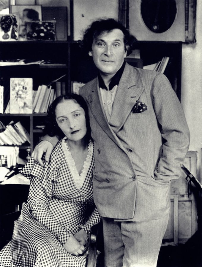 Marc and Bella Chagall, Paris, 1929 by André Kertész, marc and bella chagall