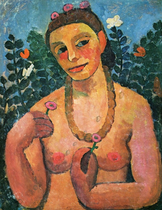 Paula Modersohn-Becker, Self-portrait, 1906, Collection of Ludwig Roselius, paula modersohn-becker expressionist