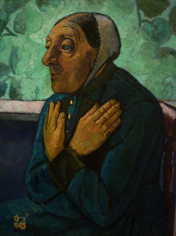 Paula Modersohn-Becker, Old Peasant Woman, c.1905, The Detroit Institute of Arts
