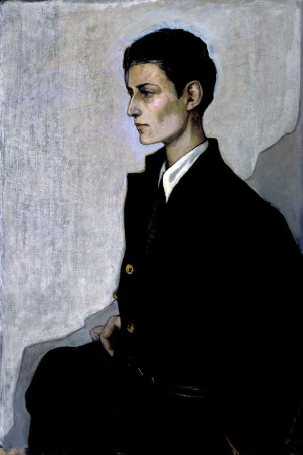 Hannah Gluckstein Gluck And Her Queer Art:  Romaine Brooks, Peter (A Young English Girl), 1923-1924, Smithsonian American Art Museum, Washington, DC, USA.