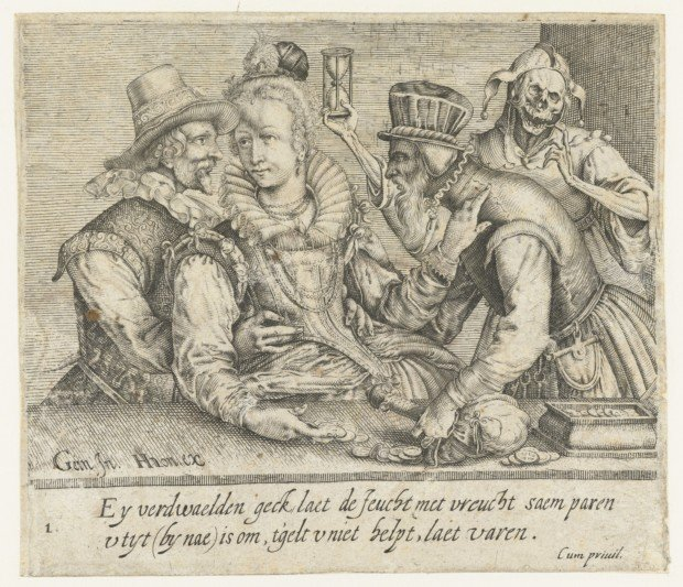 Unequal Love, Andries Jacobsz Stock, Rijksmuseum, public domain