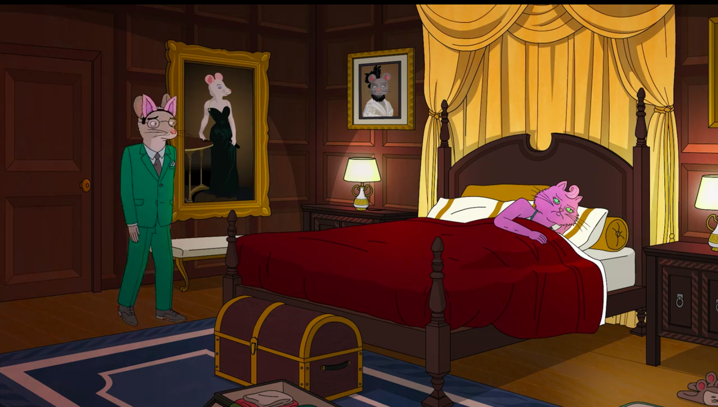 Art in BoJack Horseman Madame X on BoJack Horseman, season 04 episode 08