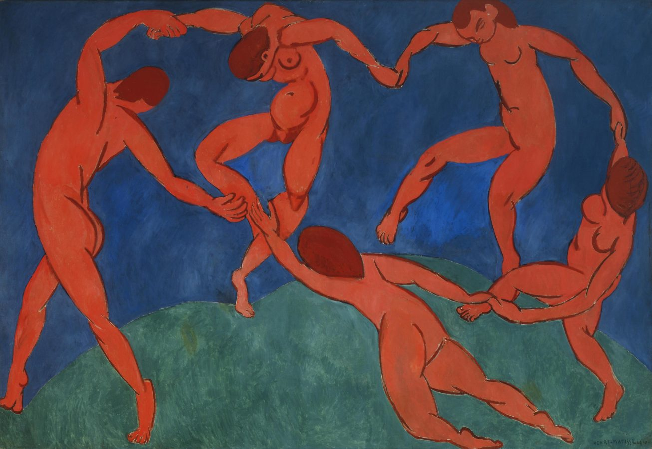 Henri Matisse, Dance, 1910, The Hermitage, St. Petersburg
