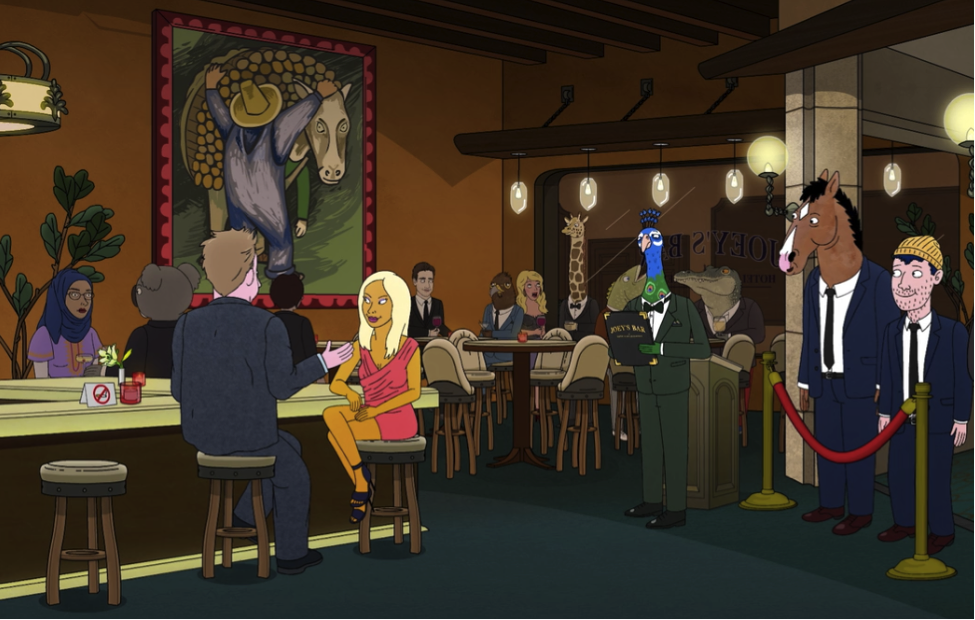 Art in BoJack Horseman Diego Rivera at BoJack Horseman, season 03 episode 05