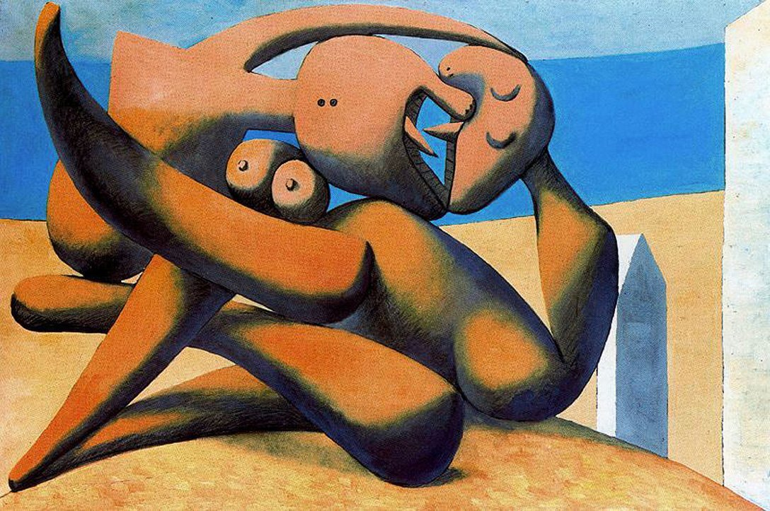 Art in BoJack Horseman 16. Pablo Picasso, Figure at the Seaside, 1931, private collection