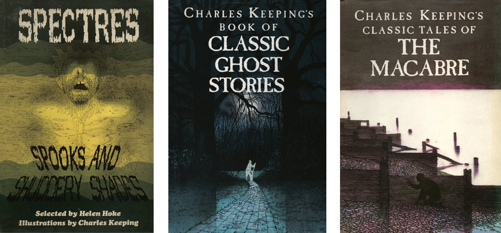Charles Keeping book cover illustrations