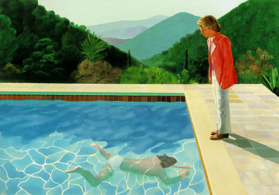 Art in BoJack Horseman David Hockney, Portrait of an artist (pool with two figures), 1972, private collection
