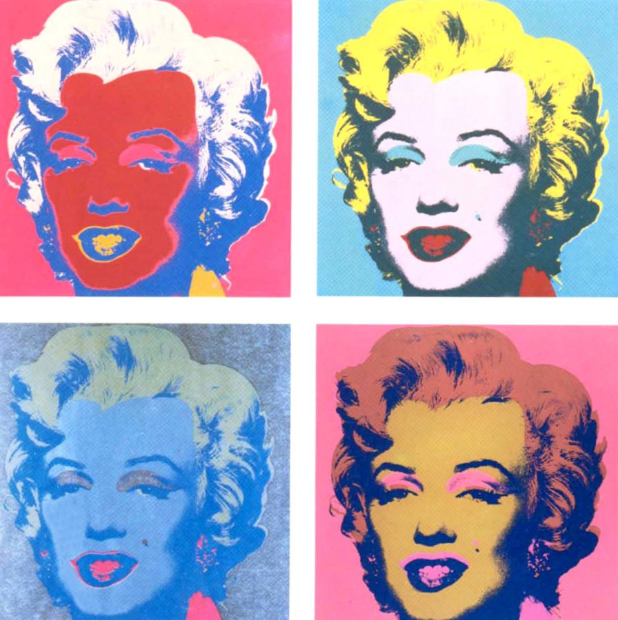 Art in BoJack HorsemanAndy Warhol, The Shot Marilyns, 1964, private collection