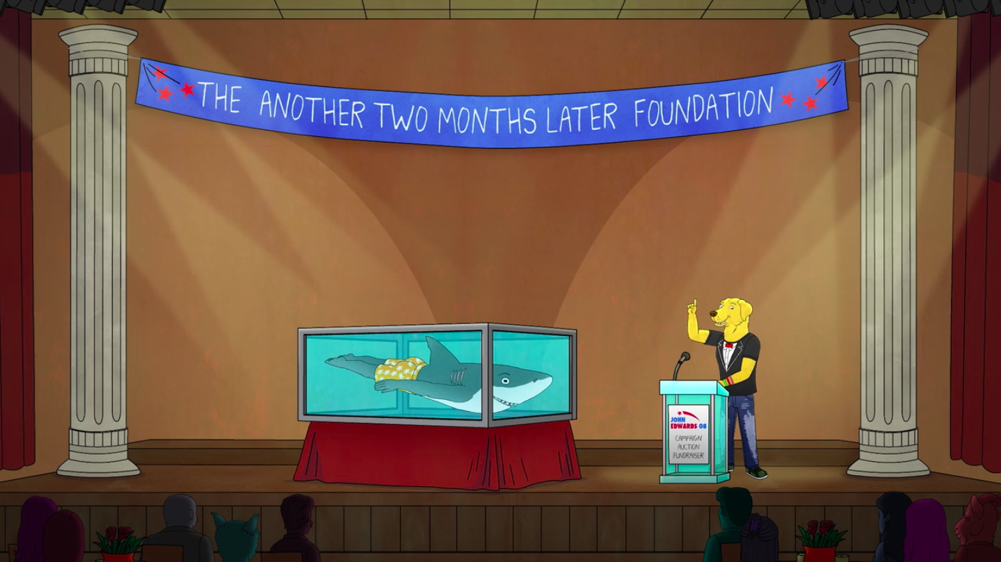 Art in BoJack Horseman