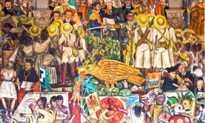 The History of Mexico, Diego Rivera, 1931, Palacio Nacional de México, The History of Mexico in Murals