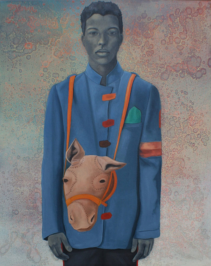 Amy Sherald, Pony Boy, 2008 © Amy Sherald Obamas' official portraits